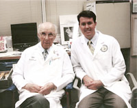 Dr. Lund with Dr. Ponseti